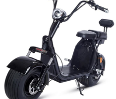 SH7 Plus EEC dual battery citycoco scooter
