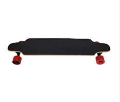 Long distance double motor 4 wheel electric skateboard