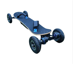 Outside the city four-wheel kick motorcycle skateboard lithium battery and offset four-wheel drive electricity
